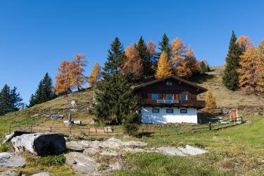 Bergerhütte im Sommer