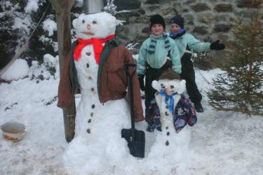 Schneemänner...
