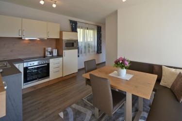 Küche Apartment Alpenrose