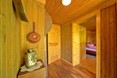 Götzfried-Hütte - Vorraum