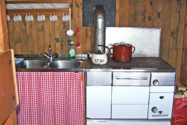 Götzfried-Hütte - Küche