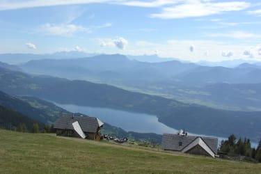 Blick von der Alexanderhütte