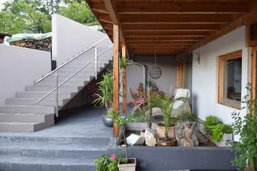 Eingangbereich Ferienwohnungen