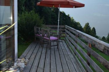 ... Terrasse mit kleiner Sitzecke