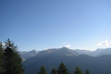 nur ein Ausschnitt des unglaublichen Bergpanoramas