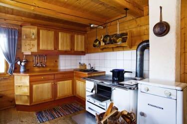 Die Küche in der Stube