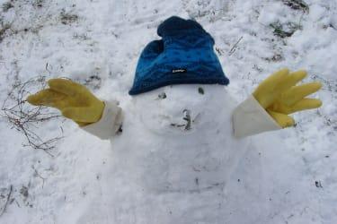 Der erst Schneemann