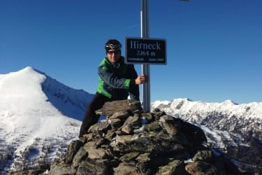 Gipfel vom Hausberg - das Hirneck (leichte Wanderung ca. 45 min.)