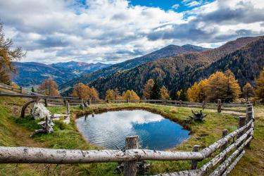 Kleiner Teich vor der Hütte