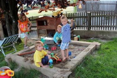 Spiel und Spaß in der Sandkiste!