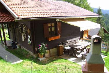 Die Terrasse mit Griller !