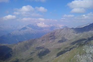Blick vom Reitereck auf die Hochalmspitze