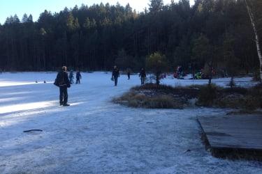 Eislaufen am Egelsee