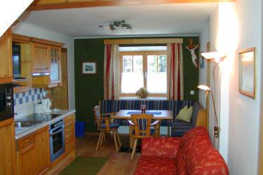 Küche Ferienwohnung Waldblick