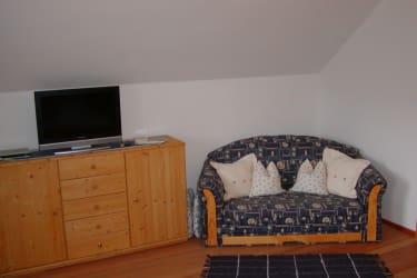 Schlafzimmer Ferienwohnung Monschein