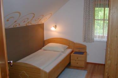 Ferienwohnung Mondschein Schlafzimmer