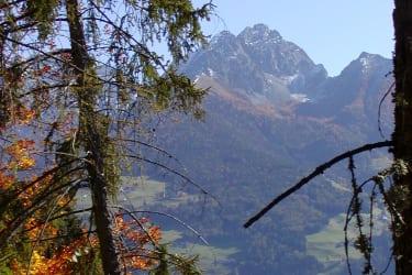 Bei uns gibt es schöne Berge