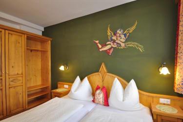 Schlafzimmer Ferienwohnung Waldblick