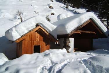 Grillhütte im Winterschlaf