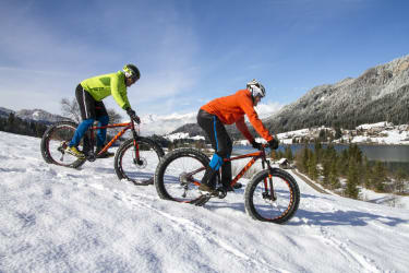 Winter Mountainbiken