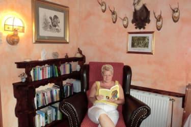 Bücherwurm Leseecke