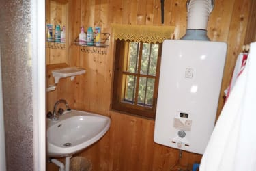 Tröbacheralm Hütte - Dusche