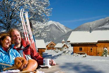 Das Landgut im Winter