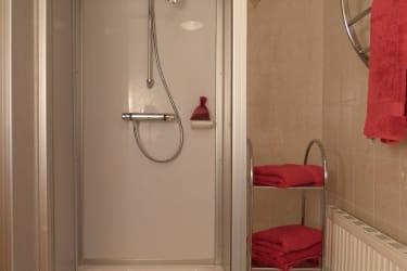 Dusche mit WC, Ferienhaus I