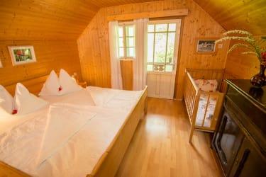 Schlafzimmer Ferienhaus Keusche