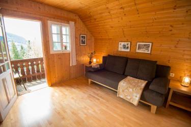 Wohnzimmer Ferienhaus Keusche
