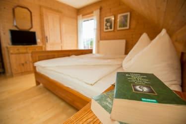 Schlafzimmer Ferienwohnung Unterdach