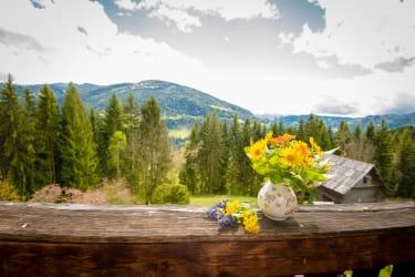 Balkon Ferienwohnung Obere Stube