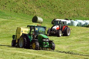 Traktoren im Einsatz