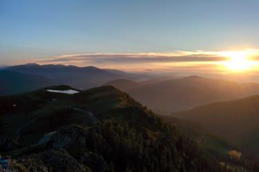 Sonnenaufgang Wöllaner Nock
