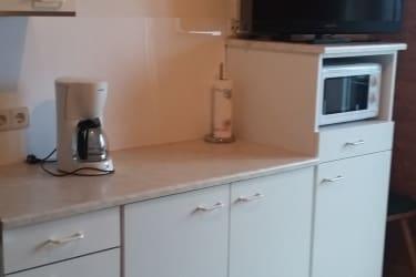 Wohnküche mit Seeblick