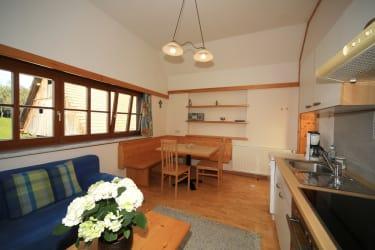 Burgblick Wohnküche