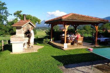Grillplatz und Garten