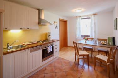 Küche Fewo 46 m²