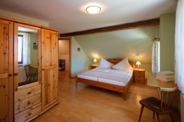 Schlafzimmer Fewo 46 m²