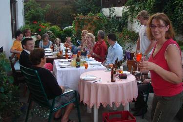 Gästeehrung mit Grillfest