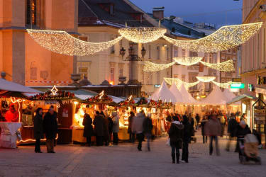 Adventmarkt in Villach