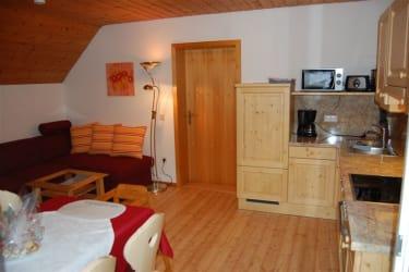 Wohnküche mit Fernsehecke