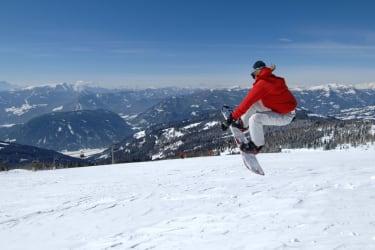 Snowboarden auf der Gerlitzen