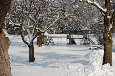 Winterspielplatz