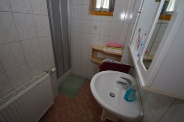 Badezimmer, Terrassenwohnung