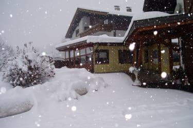 Schnee gibt es genug