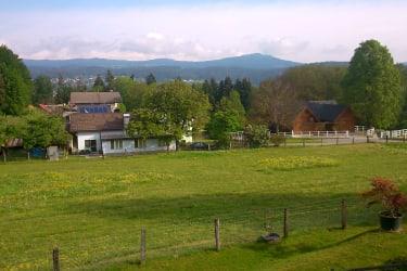 Blick vom Balkon Richtung Norden