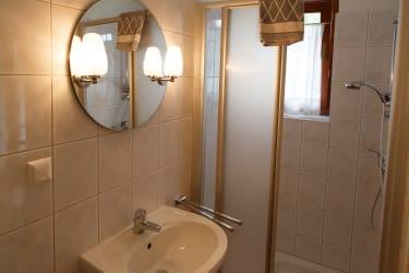 Badezimmer Mohnblume