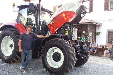 unser neuer Steyr Traktor