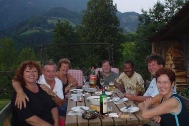 Grillen mit Gästen